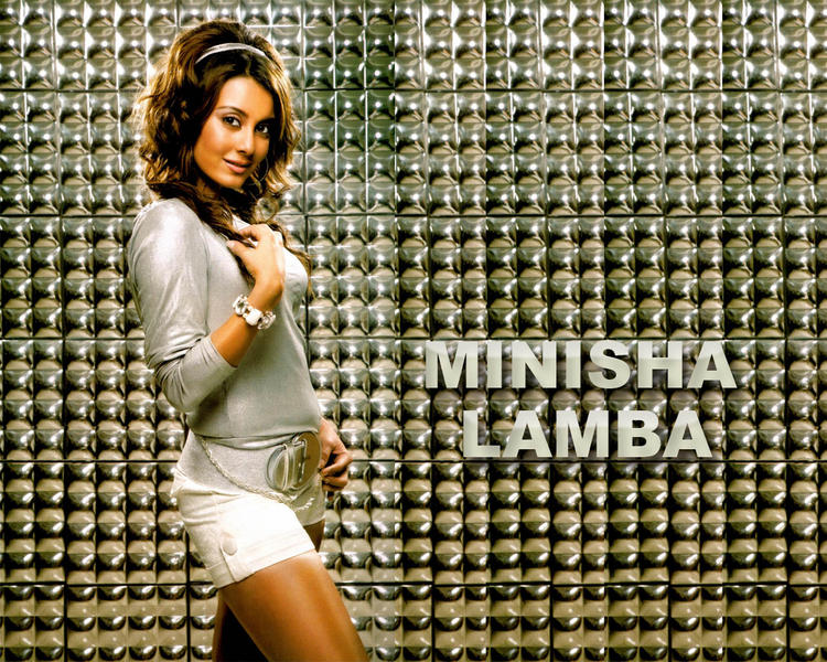 Minissha Lamba Sexy Looking Wallpaper