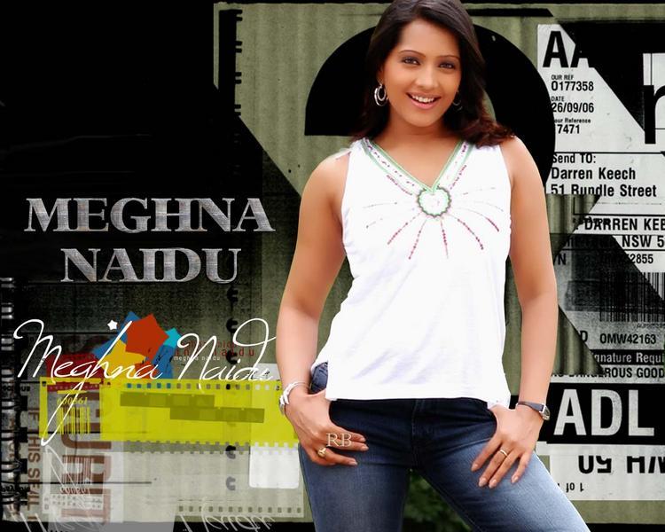 Glamorous Meghna Naidu Wallpaper