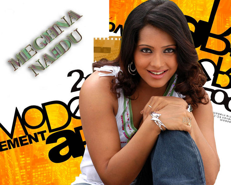 Meghna Naidu Cool Face Look Wallpaper