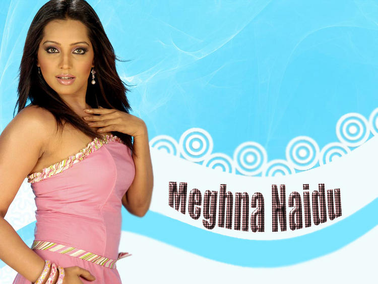 Meghna Naidu Gorgeous Look Wallpaper