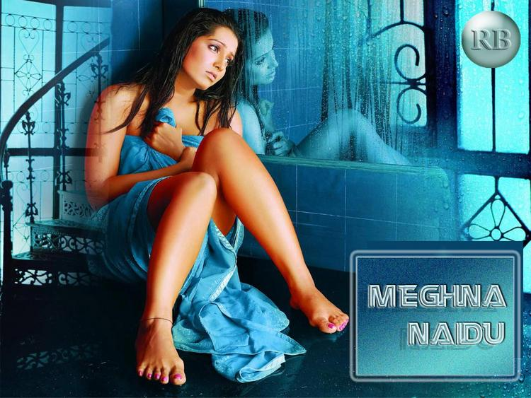 Meghna Naidu Sexy And Hot Wallpaper