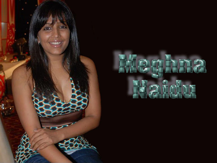 Meghna Naidu Smiling Wallpaper