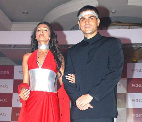 Malaika Arora Khan and Arbaaz Khan Gorgeous Photo
