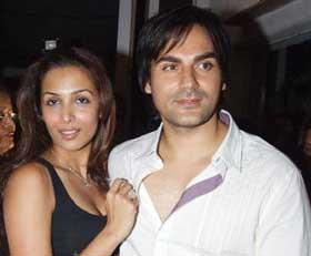 Malaika Arora Khan and Arbaaz Khan Sexy Still