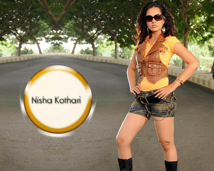 Nisha Kothari Hot Stylist Wallpaper With Mini Dress