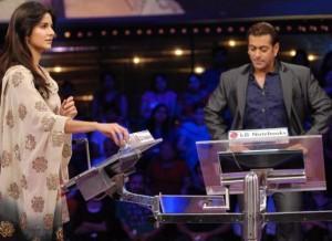 Salman Khan and katrina In Dus Ka Dum