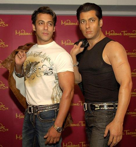 Salman Khan Poses With His Madame Tussaudes