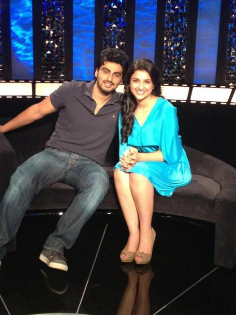 Arjun Kapoor and Parineeti Chopra at Various Ishaqzaade Promotional Event