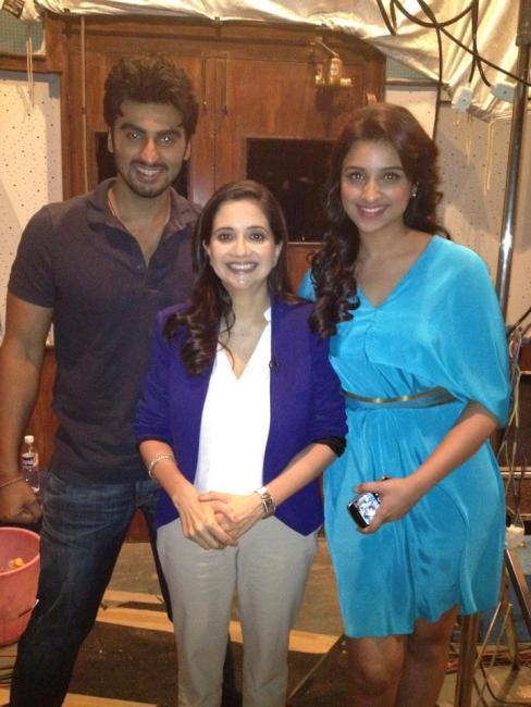 Arjun Kapoor and Parineeti Chopra at Various Ishaqzaade Promotional