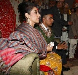 Manisha Koirala And Samrat Dahal Marriage Pics