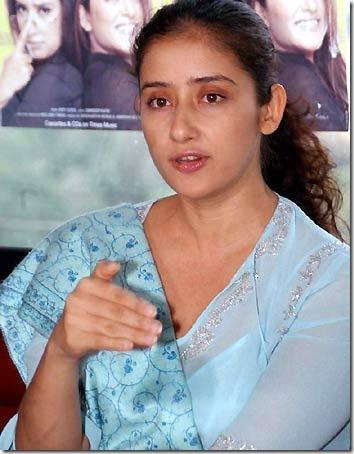 Manisha Koirala Beautiful Look In Without Makeup Pics