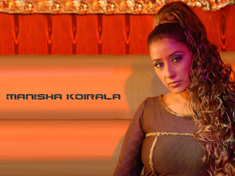 Manisha Koirala Hot Look Wallpaper