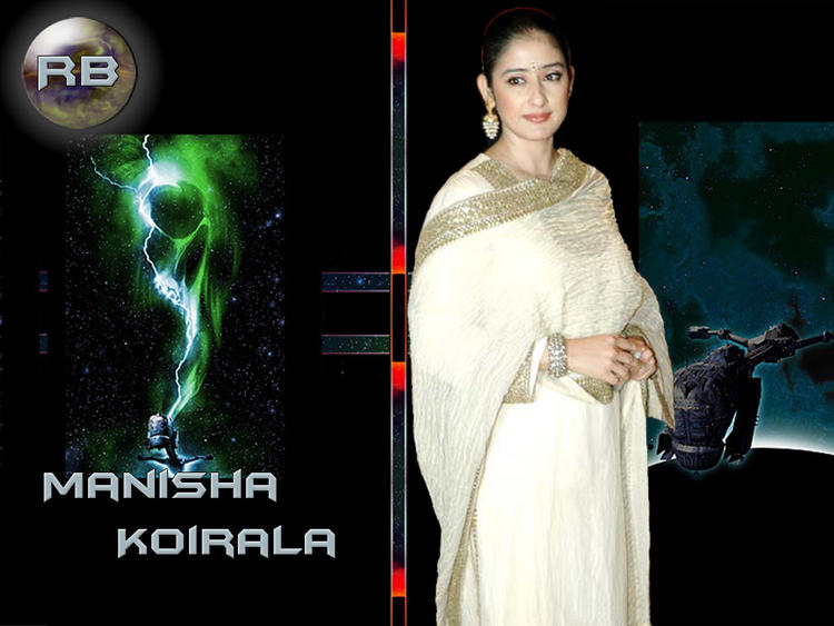 Manisha Koirala NIce Look Wallpaper
