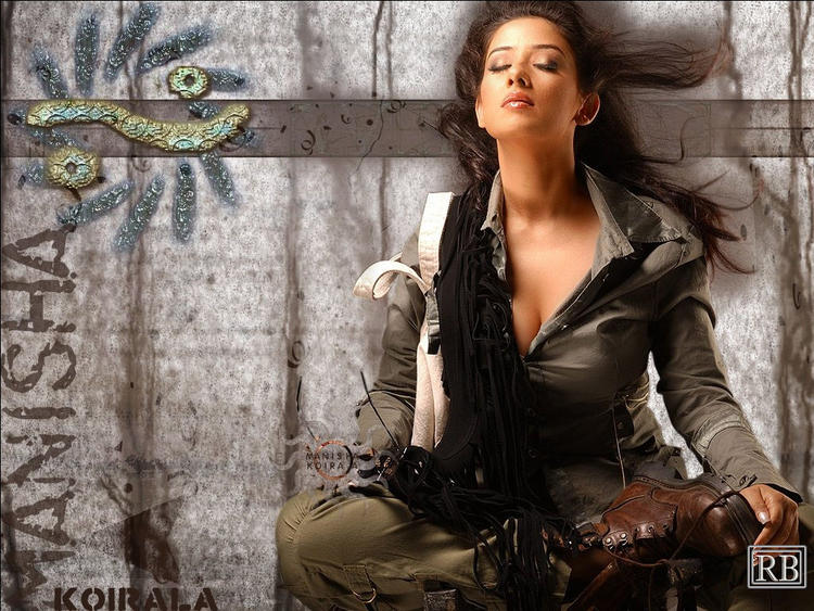 Sexy Manisha Koirala Hottest Wallpaper