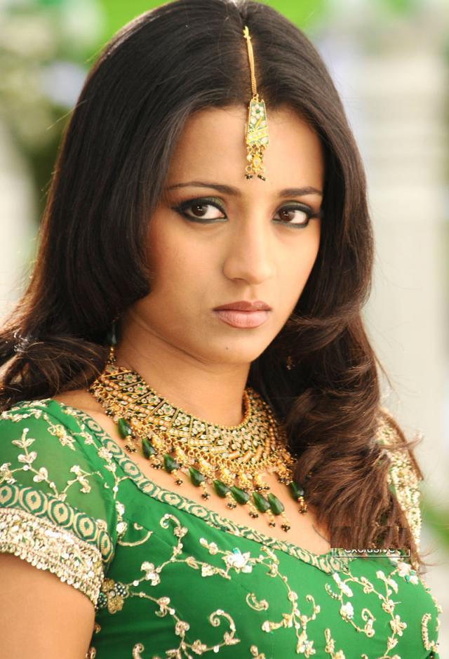 Trisha Krishnan Cute Face Beauty Still