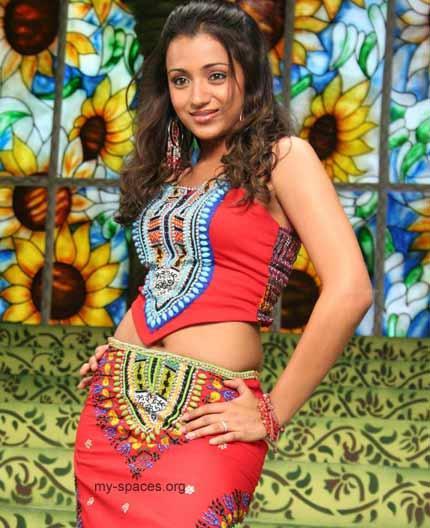 Trisha Krishnan Sexy Dance Still