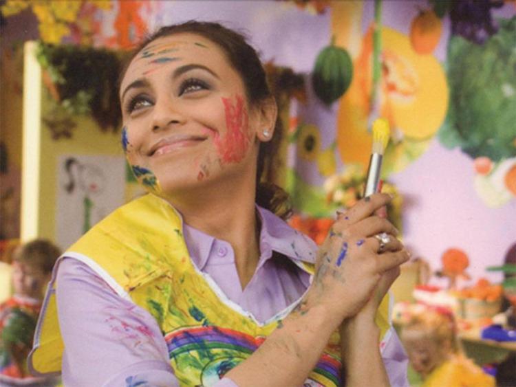 Rani Mukherjee Celebrates Holi