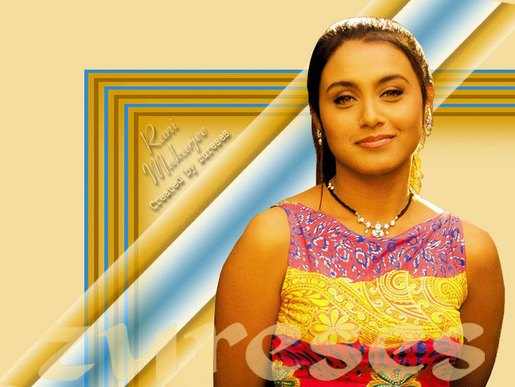 Rani MukherjeeCute Gorgeous Face Wallpaper