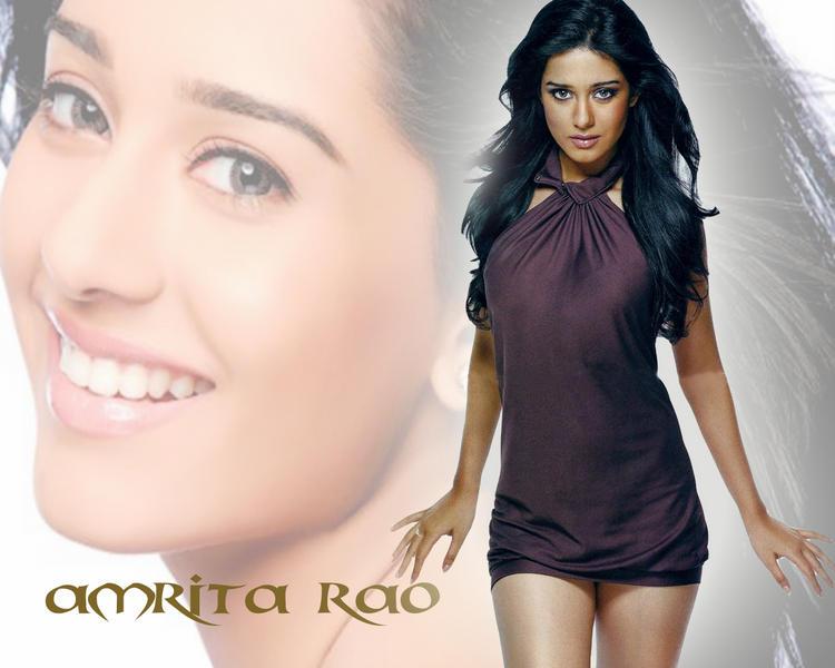 Amrita Rao Hot Killer Look Wallpaper