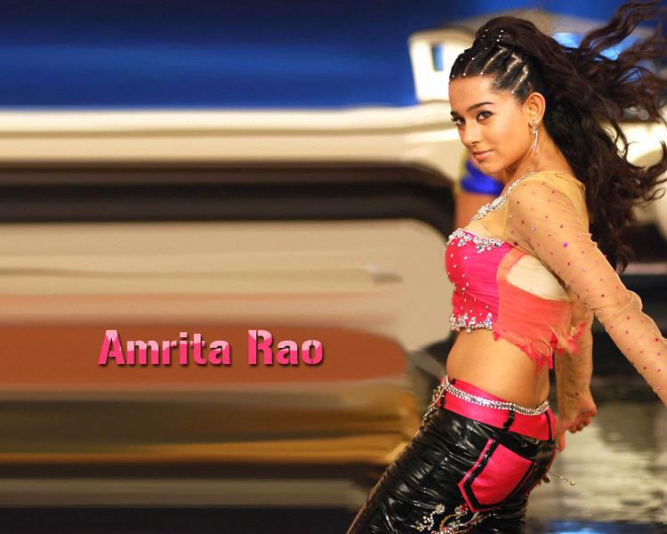 Amrita Rao Rocking Wallpaper