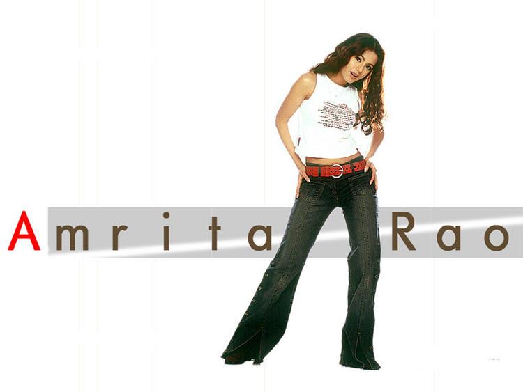 Amrita Rao Sexy Looking Wallpaper