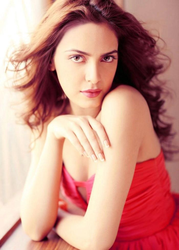Shazahn Padamsee Looking Very Gorgeous In Red Dress