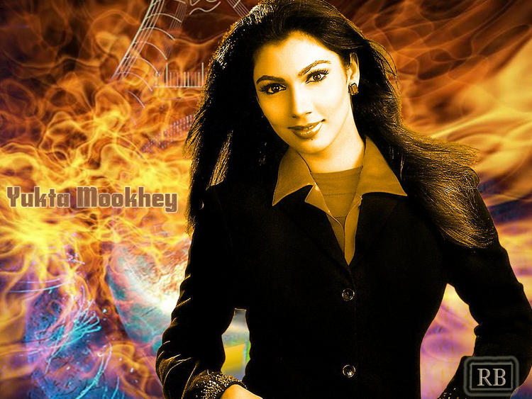 Yukta Mookhey Hot Gorgeous Wallpaper