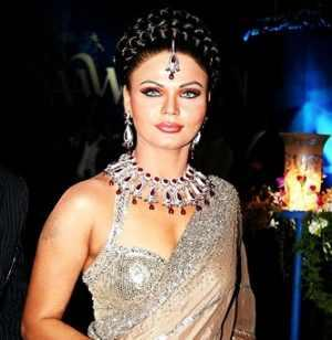 Rakhi Sawant Gorgeous Look Wallpaper