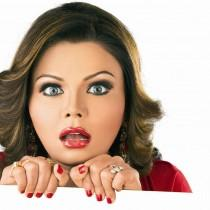 Rakhi Sawant Hot Eyes Wallpaper