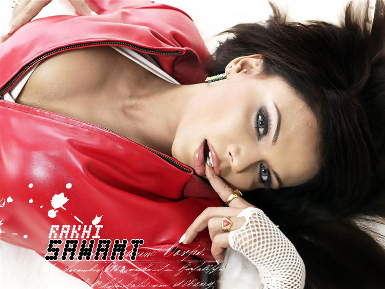 Rakhi Sawant Hot Look Wallpaper