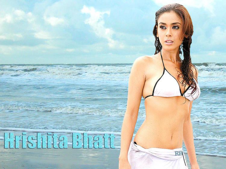 Bikini Babe Hrishita Bhatt Wallpaper