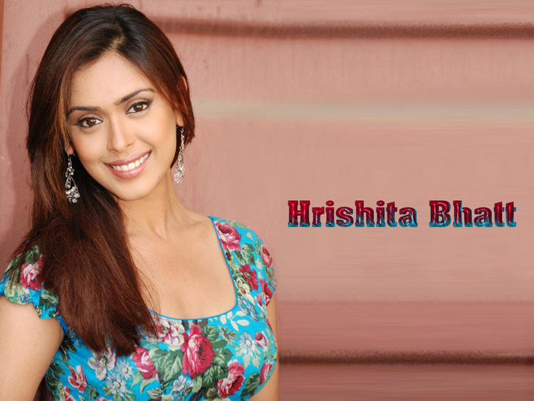 Hrishita Bhatt Awesome Face Look Wallpaper