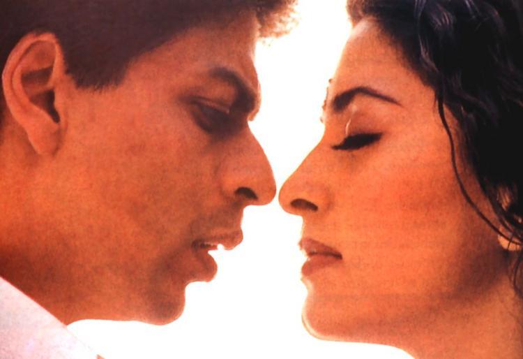 Juhi and Shahrukh Hot Pic