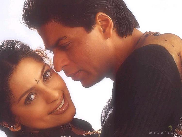 Juhi and Shahrukh Hot Scene Still