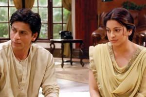 Juhi Chawla and SRK In Bhoothnath