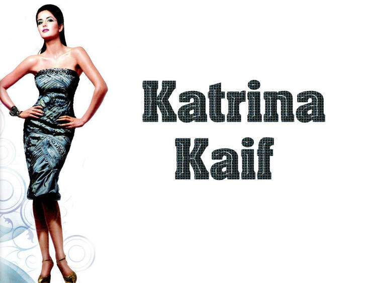 Katrina Kaif In Sleeveless Dress Hot Wallpaper