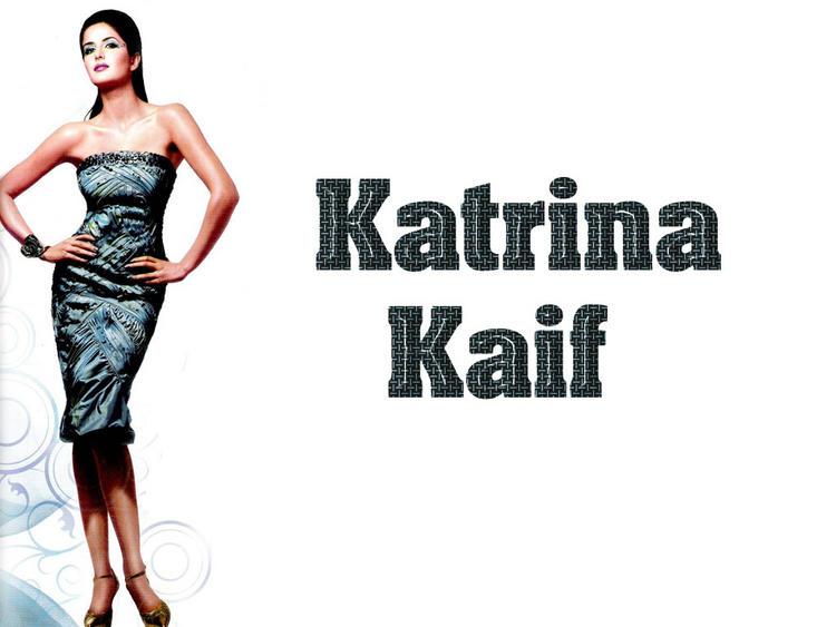 Katrina Kaif In Sleeveless Dress Hot Wallpaper