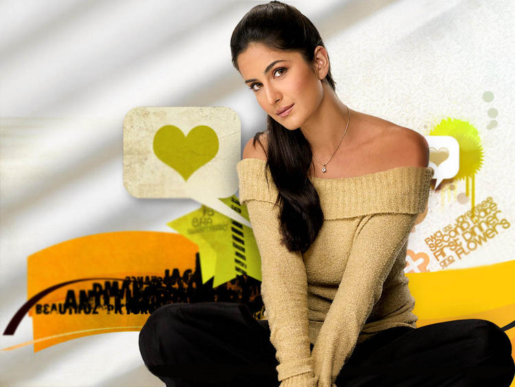 Sexiest Bollywood Actress Katrina Kaif Wallpaper