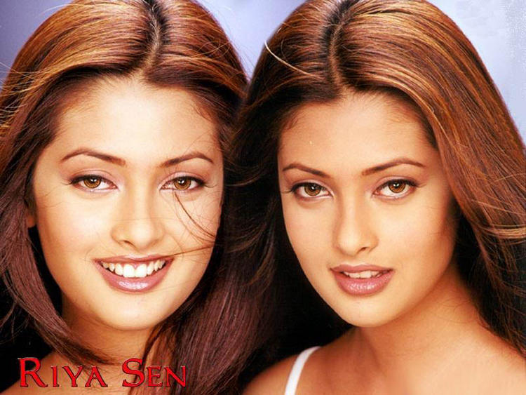 Riya Sen Beauty Face Latest Wallpaper