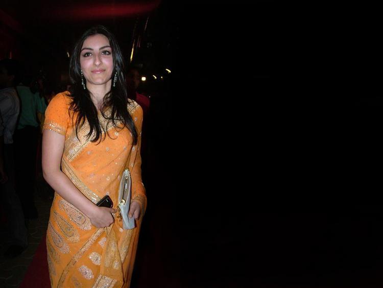 Beautiful Soha Ali khan In Gorgeous Saree