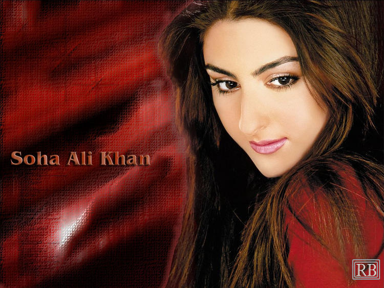 Gorgeous Beauty Soha Ali khan Wallpaper