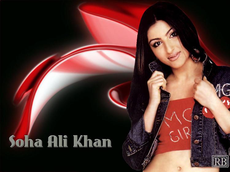 Soha Ali Khan Nice and Cool Look Wallpaper