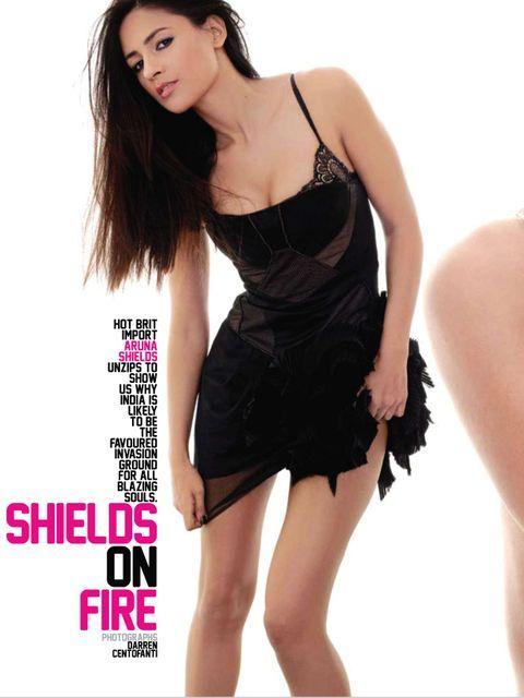 Aruna Shield Hot Photos From Maxim Magazine