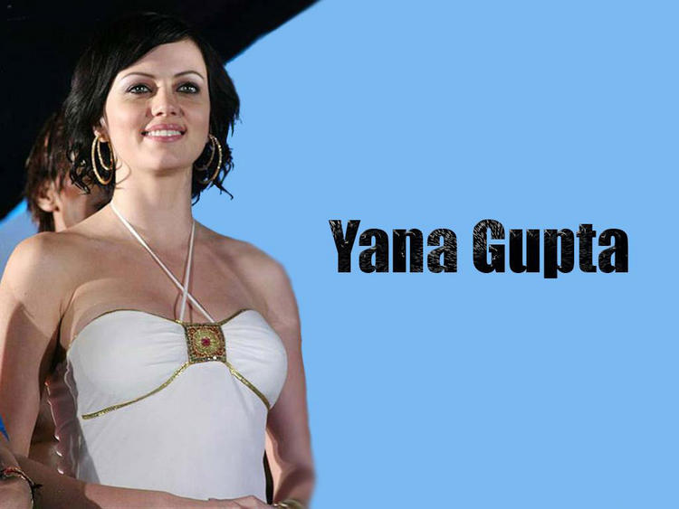 Item Girl Yana Gupta Wallpaper