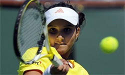 Beautiful Tennis Player Sania Mirza Pic