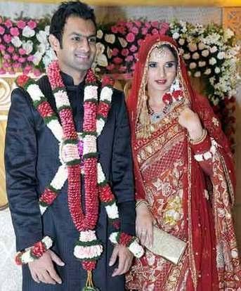 Sania Mirza and Shoaib Wedding Still