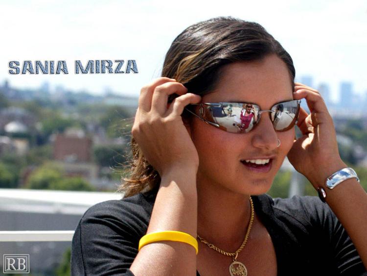 Sania Mirza Stylist Wallpaper Wearing Goggles
