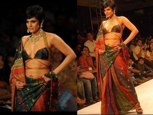Mandira Bedi Walk For Satya Paul Ramp Show
