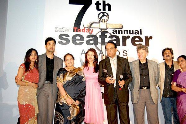 Aishwarya Rai At The 7th Annual Seafarer Awards