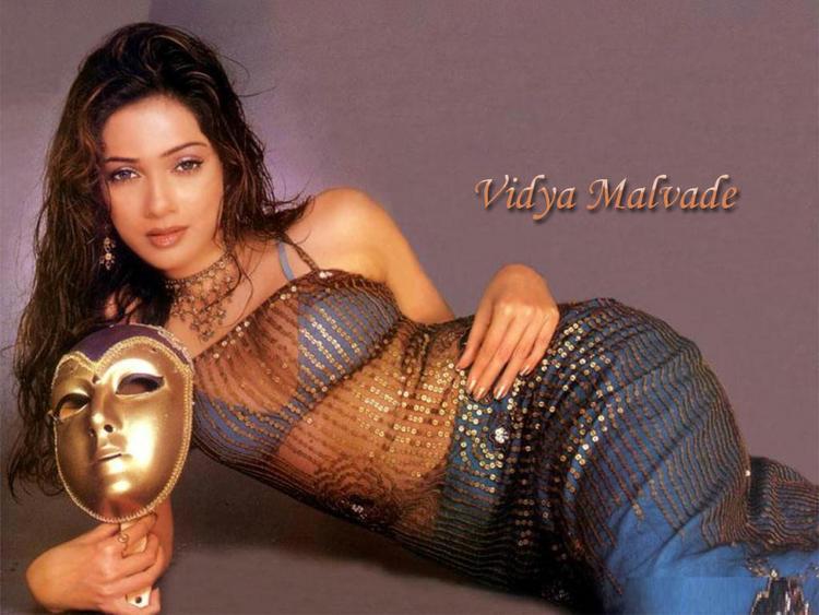 Vidya Malvade Hot Transparent Dress Wallpaper